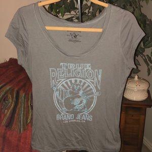 True Religion Gray T-Shirt